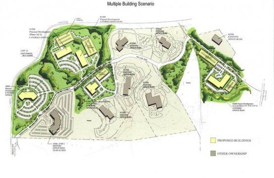 1400 West Park Drive, Westborough, MA - Multiple-building Scenario